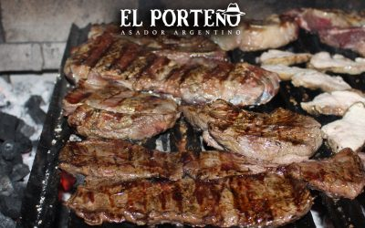 Grilled meat in the purest Argentine style